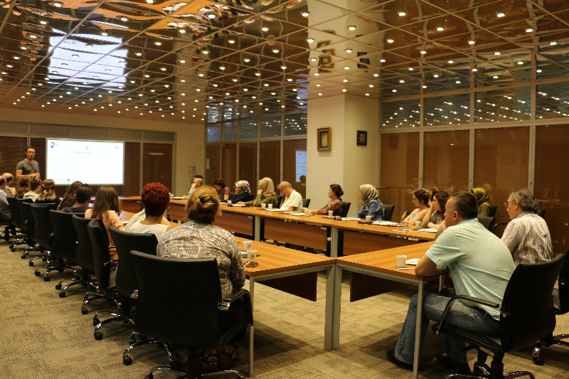 'Ulusal Yetenek ve Mentor Ağı Projesi' akademisyenlere anlatıldı