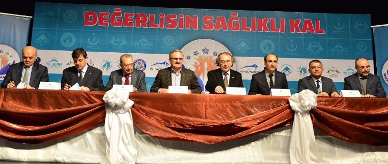 'Değerlisin, sağlıklı kal' Türkiye'ye örnek proje gösterildi.