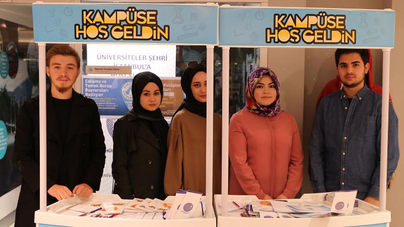 Üsküdar Üniversitesi Öğrenci Konseyi'nde yeni öğrencilere özel karşılama