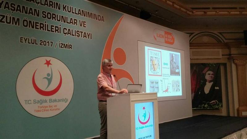 Prof. Dr. Tayfun Uzbay Sağlık Bakanlığı'nın çalıştayına katıldı