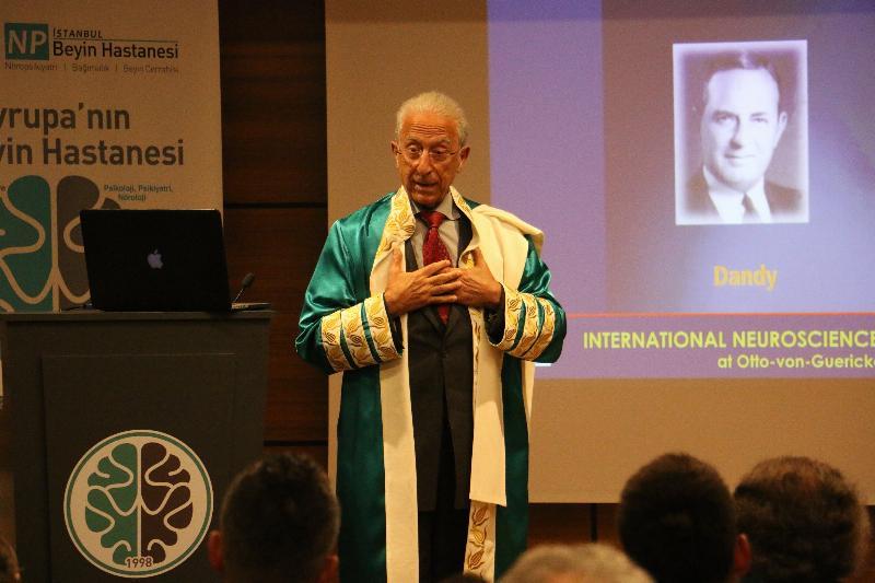 Ünlü beyin cerrahı Prof. Dr. Madjid Samii'ye  Üsküdar Üniversitesinden Fahri Doktora 5