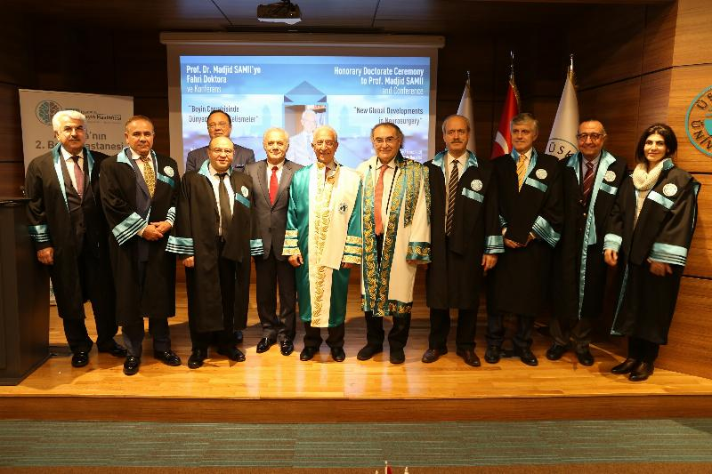 Üsküdar University's Honorary Doctorate Ceremony to World-Famous Neurosurgeon Prof. Madjid Samii