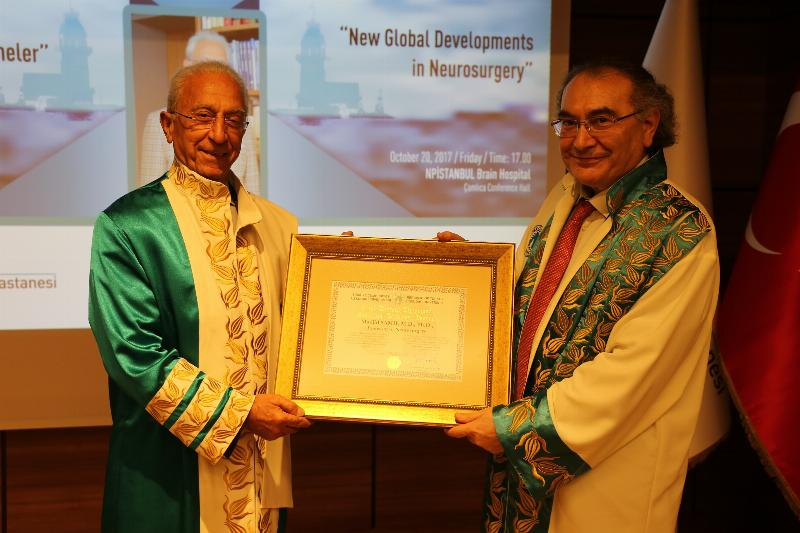 Üsküdar University's Honorary Doctorate Ceremony to World-Famous Neurosurgeon Prof. Madjid Samii 2