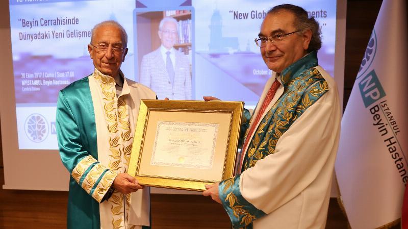 Ünlü beyin cerrahı Prof. Dr. Madjid Samii'ye  Üsküdar Üniversitesinden Fahri Doktora 2