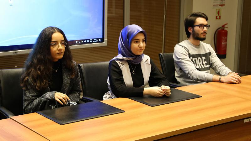 Birinciler Üsküdar Üniversitesi Senatosunda
