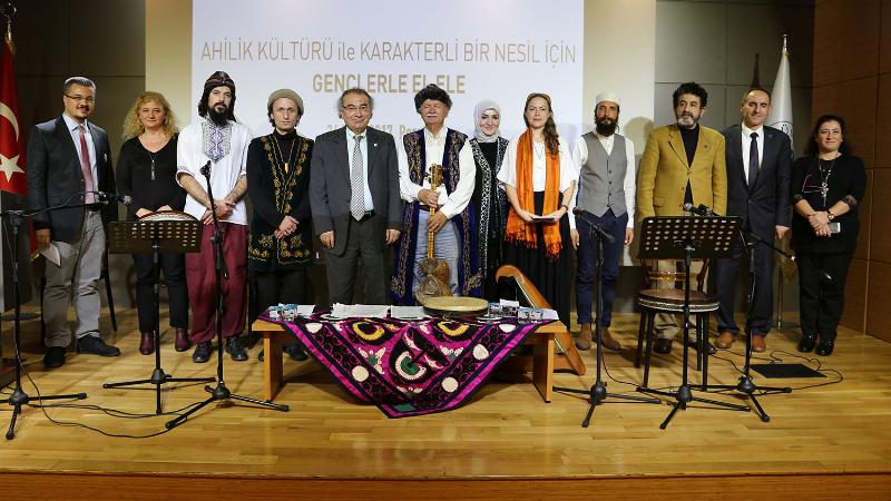 Üsküdar Üniversitesi gençlere Ahilik değerlerini kazandırmak için yola çıktı