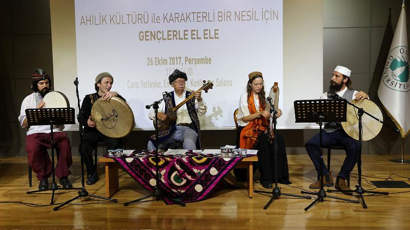 Üsküdar Üniversitesi gençlere Ahilik değerlerini kazandırmak için yola çıktı 3