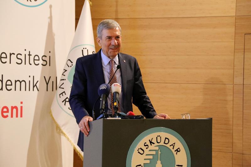 Yeni akademik yılın açılış dersi Sağlık Bakanı Dr. Ahmet Demircan'dan 3