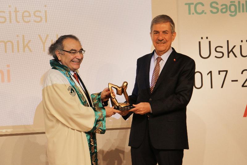 Yeni akademik yılın açılış dersi Sağlık Bakanı Dr. Ahmet Demircan'dan 4