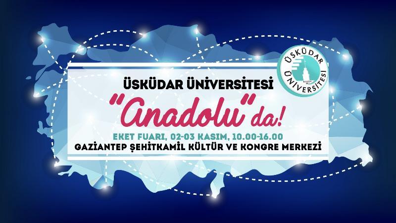 Üsküdar Üniversitesi, Gaziantep'te üniversite adaylarıyla buluşuyor (2017-11-01)