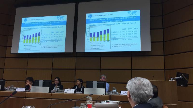 Prof. Dr. Sevil Atasoy, Viyana'daki BM Uyuşturucu Kontrol Toplantısında 2