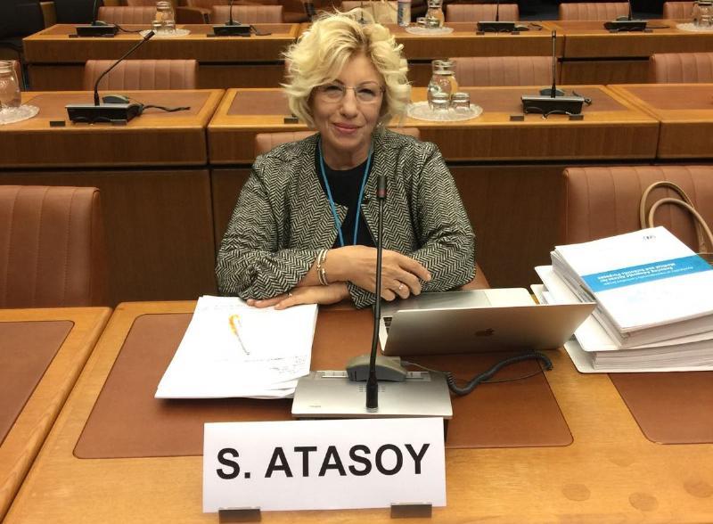 Prof. Dr. Sevil Atasoy, Viyana'daki  BM Uyuşturucu Kontrol Toplantısında