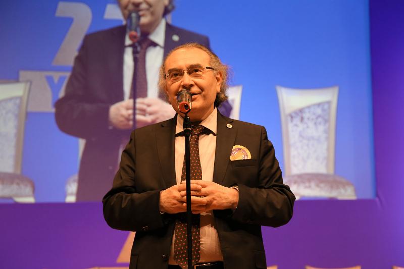 Prof. Dr. Nevzat Tarhan'a Evrensel Kardeşlik Ödülü 2