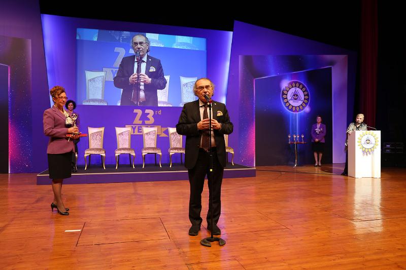 Prof. Dr. Nevzat Tarhan'a Evrensel Kardeşlik Ödülü 3