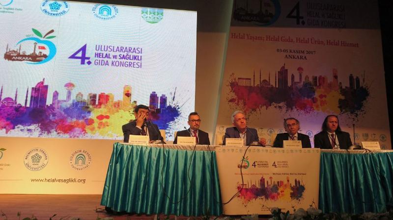Prof. Dr. Nevzat Tarhan Helal Gıda Kongresi'ne katıldı 2