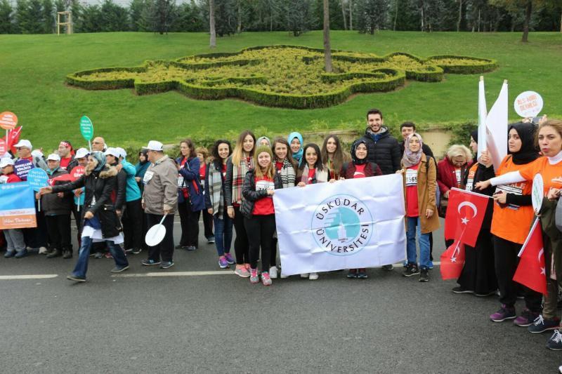 Üsküdar Üniversiteliler İstanbul Maratonu'na katıldı 2