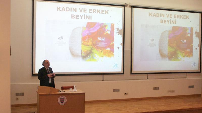 Prof. Dr. Nevzat Tarhan Bilkentliler'e iyi, kötü ve suç kavramlarını anlattı