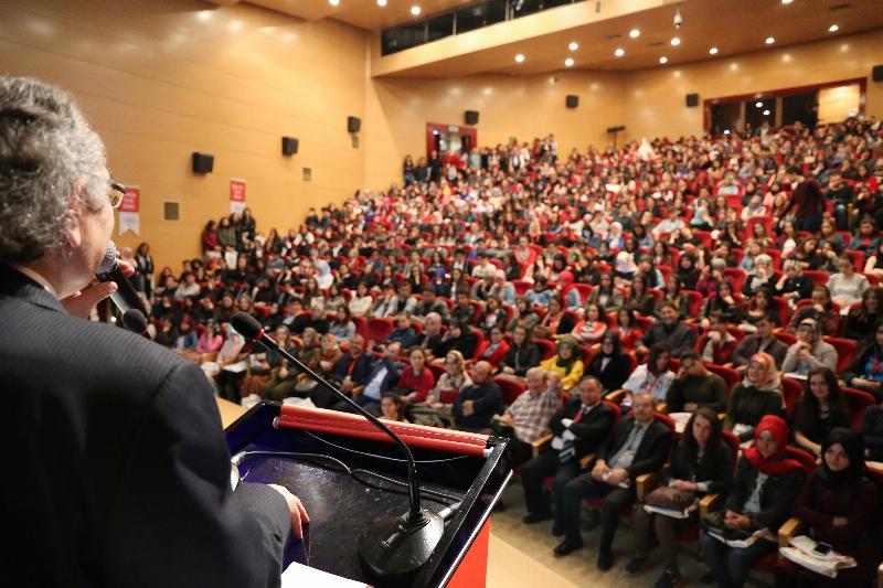 Prof. Dr. Nevzat Tarhan'dan Ordu'da bir günde üç konferans