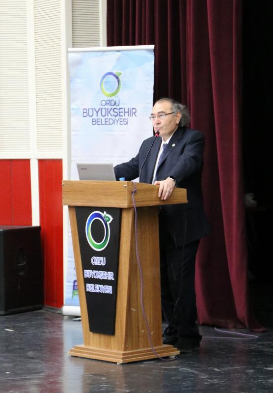 Prof. Dr. Nevzat Tarhan'dan Ordu'da bir günde üç konferans 5