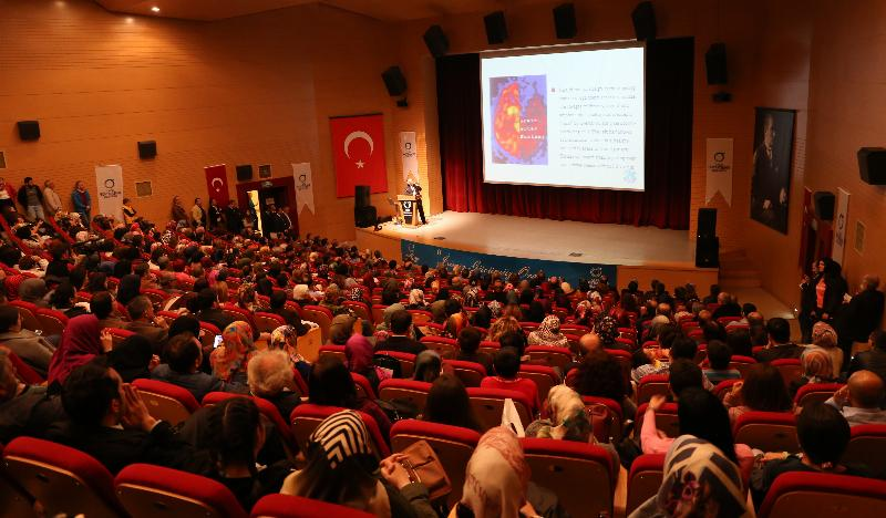 Prof. Dr. Nevzat Tarhan'dan Ordu'da bir günde üç konferans 7