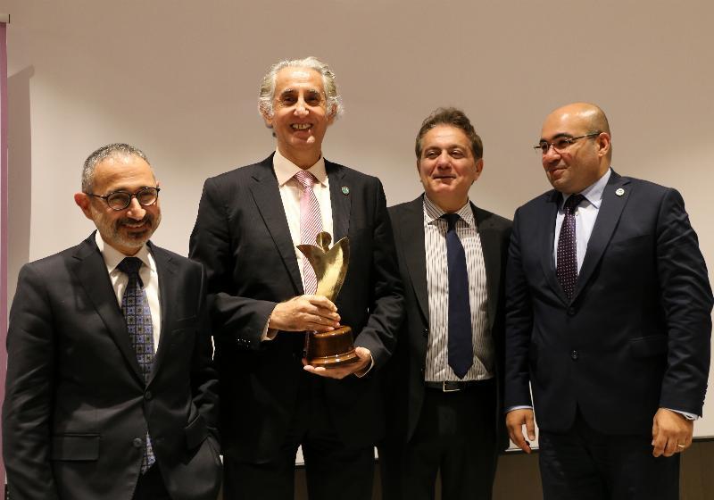 """NPİSTANBUL Beyin Hastanesi'ne """"Sağlık Sistemine Özgün ve Nitelikli Katkı Ödülü"""" 3"""