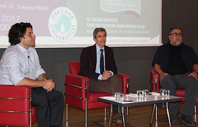 Deneyimli gazeteciler Üsküdar Üniversitesi'nde 4
