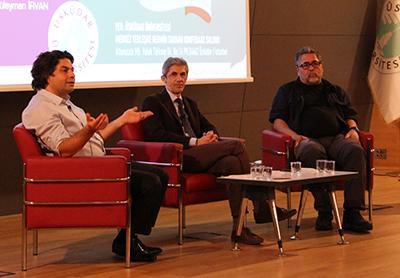 Deneyimli gazeteciler Üsküdar Üniversitesi'nde 3
