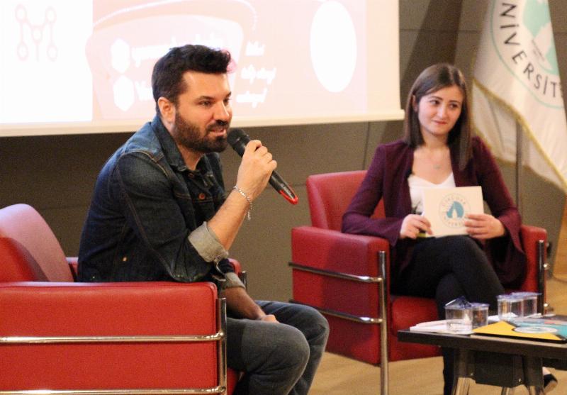 Pop sanatçısı Emir Üsküdar Üniversitesi'nde