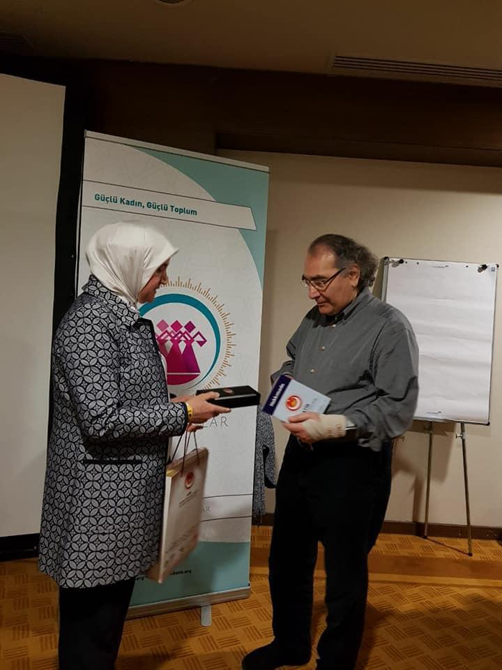 """Prof. Dr. Nevzat Tarhan ATİB üyelerine """"Toplum psikolojisi ve empati"""" yi anlattı. 3"""