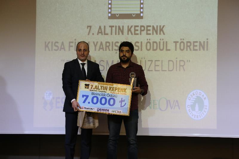 7. Altın Kepenk Film ödülleri Üsküdar Üniversitesinde sahiplerini buldu 7