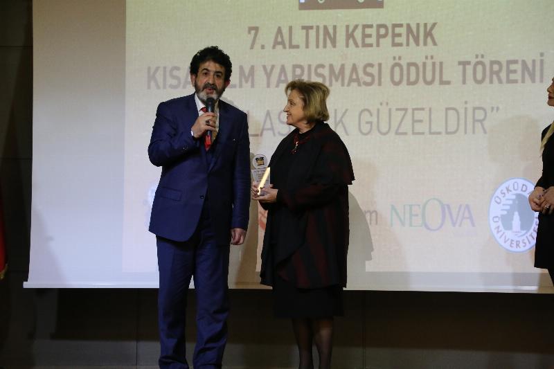 7. Altın Kepenk Film ödülleri Üsküdar Üniversitesinde sahiplerini buldu 2
