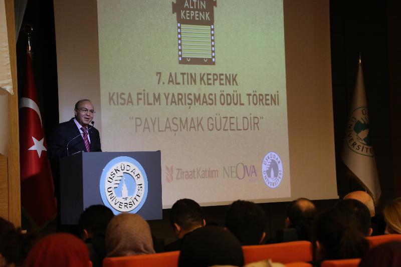 7. Altın Kepenk Film ödülleri Üsküdar Üniversitesinde sahiplerini buldu 5