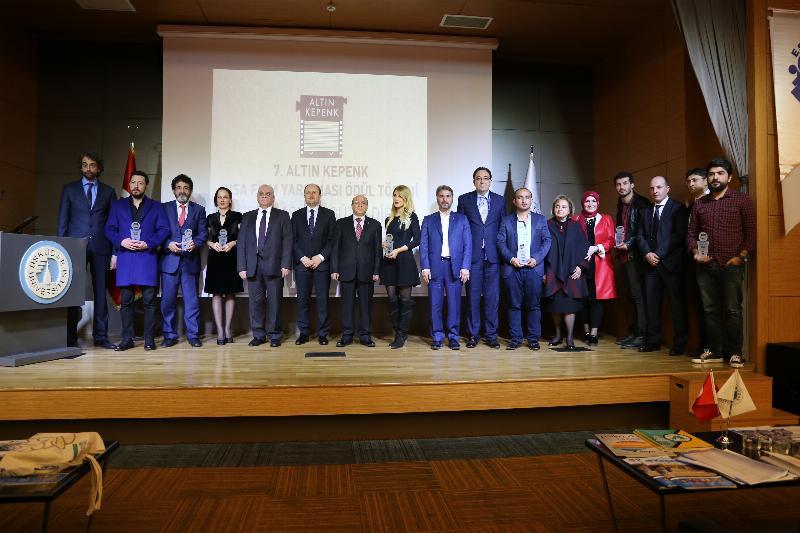 7. Altın Kepenk Film ödülleri Üsküdar Üniversitesinde sahiplerini buldu