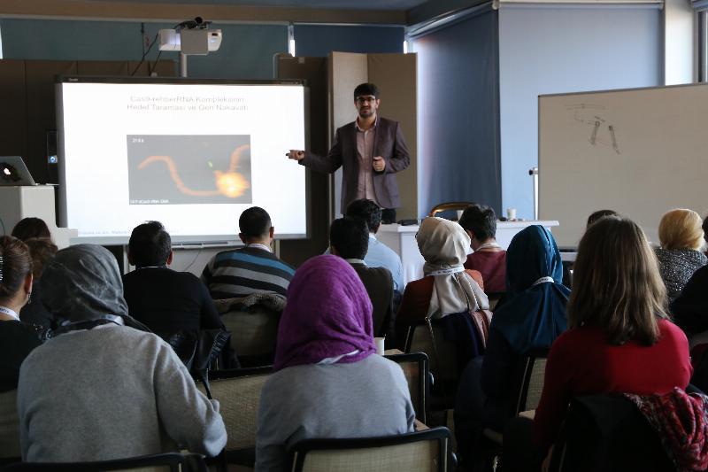 2. CRISPR-CAS9 DNA Ameliyatı Çalıştayı Üsküdar Üniversitesinde yapıldı 3