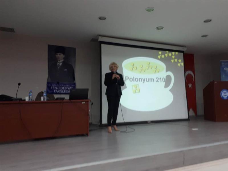 """Sevil Atasoy """"Adalet ve Kimya"""" Konferansına Katıldı!"""