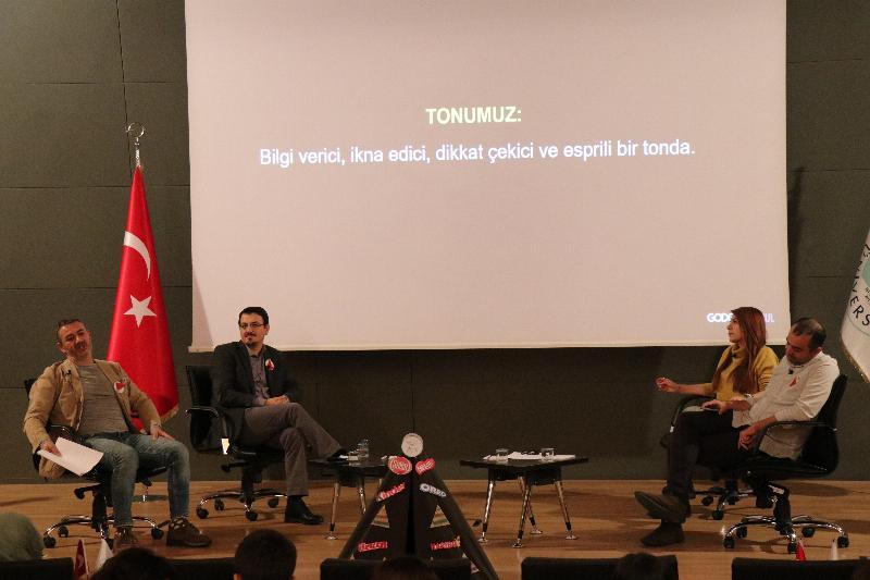 Reklamcılar Üsküdar Üniversitesi'nde