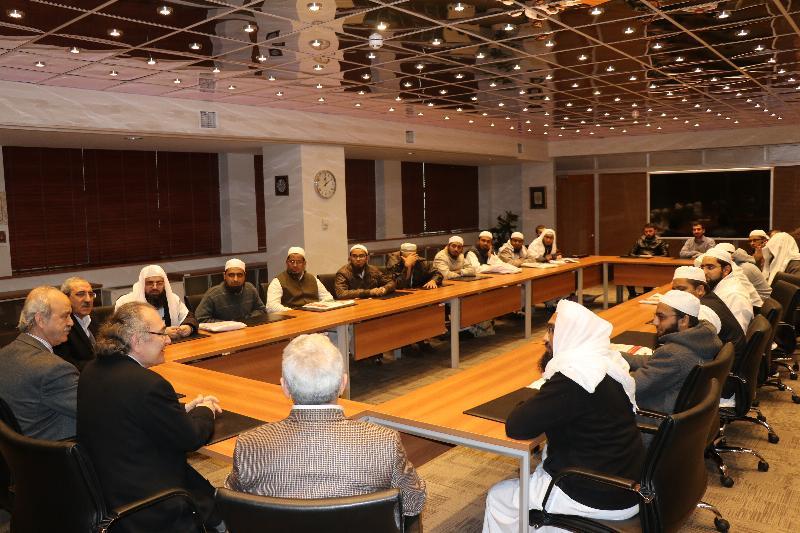 Hindistanlı akademisyenler Üsküdar Üniversitesini ziyaret etti