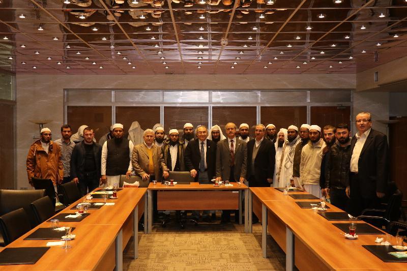 Hindistanlı akademisyenler Üsküdar Üniversitesini ziyaret etti 3