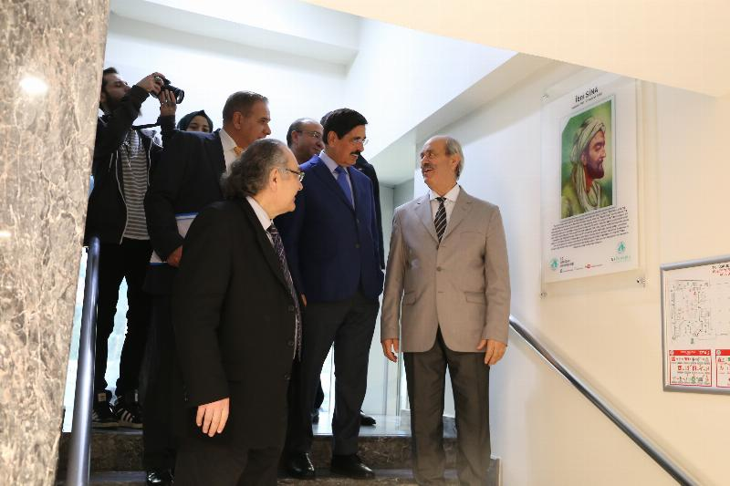 Qatar Deputy Prime Minister visited Üsküdar University 5