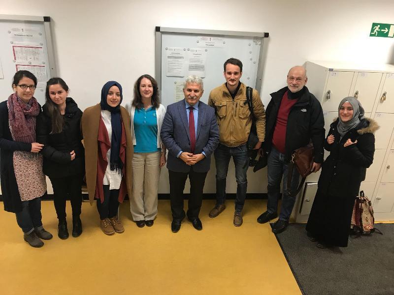 Prof. Dr. İbrahim Özdemir'den, Tübingen İslam İlahiyat Merkezi'nde yılın son dersi 4