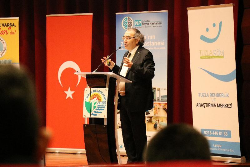 """Rektör Prof. Dr. Nevzat Tarhan'dan Eğitimcilere """"Değerler Eğitimi"""" Konferansı 2"""