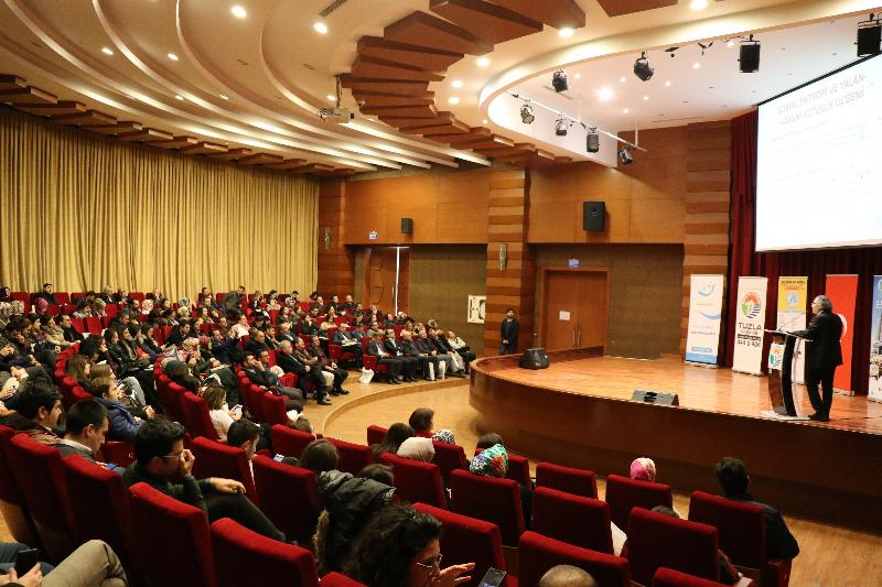 """Rektör Prof. Dr. Nevzat Tarhan'dan Eğitimcilere """"Değerler Eğitimi"""" Konferansı"""
