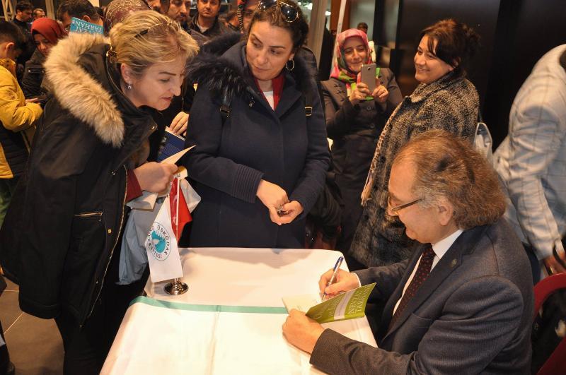 Evliliğin 5 düşmanı! Prof. Dr. Nevzat Tarhan Kayserililerle buluştu. 5