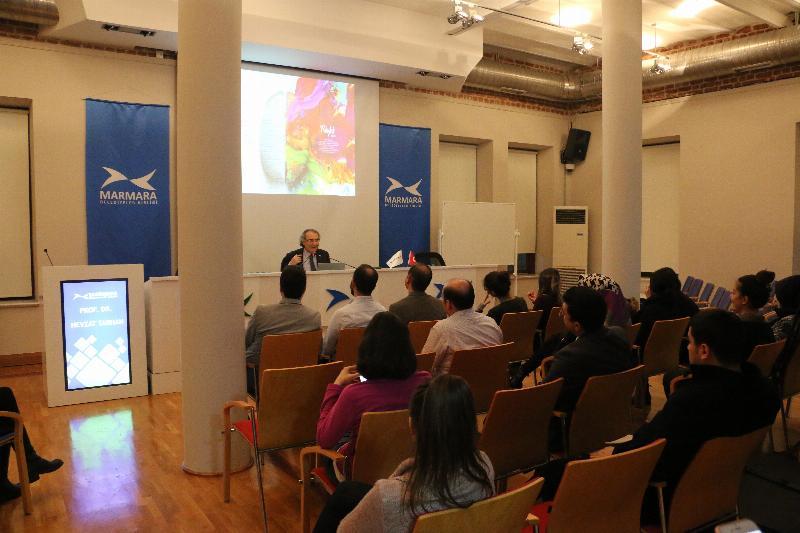 """Prof. Dr. Nevzat Tarhan """"Şehir Stresi ve Stres Yönetimi"""" ni anlattı"""