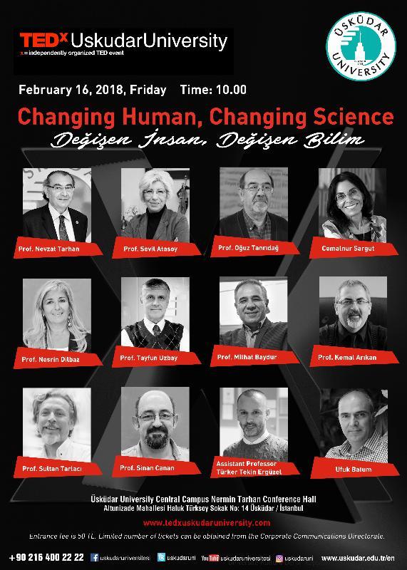 Bilim, insan ve beyin TEDx Üsküdar'da konuşuluyor!