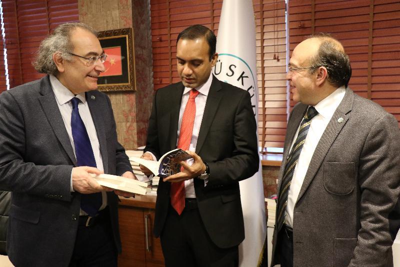 Bangladeş Başkonsolosu Üsküdar Üniversitesini ziyaret etti 3