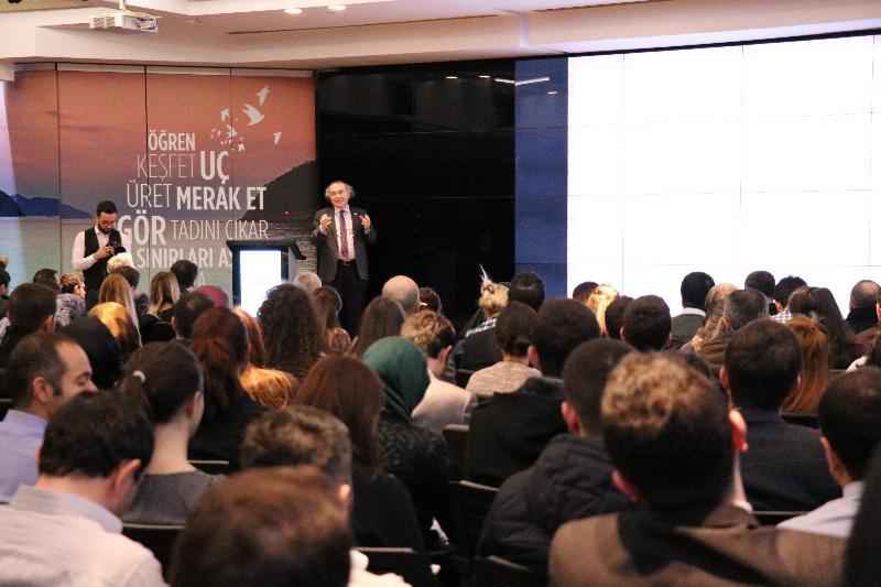 """Prof. Dr. Nevzat Tarhan, THY'de """"İnovasyon ve Liderliği"""" anlattı 2"""