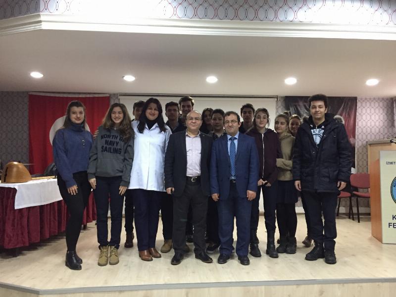 Prof. Dr. Muhsin Konuk Kocaeli'de Öğrencilerle Buluştu