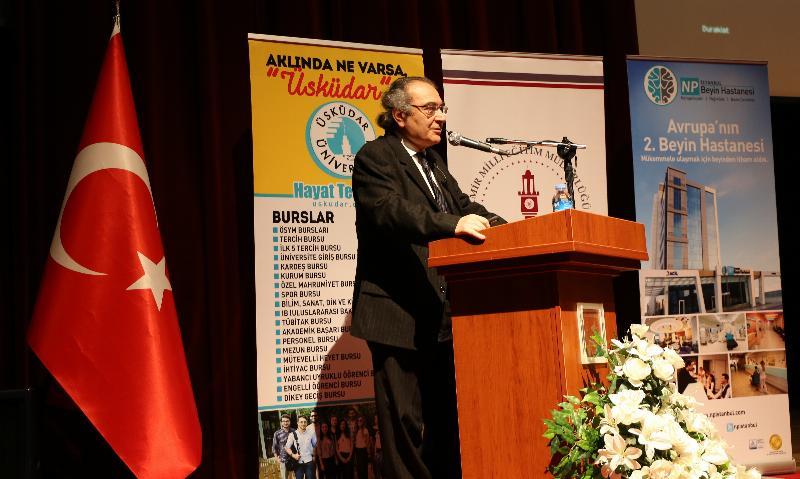 """Prof. Dr. Nevzat Tarhan: """"Öğretmenin kişiliği eğitimin can suyudur"""" 2"""