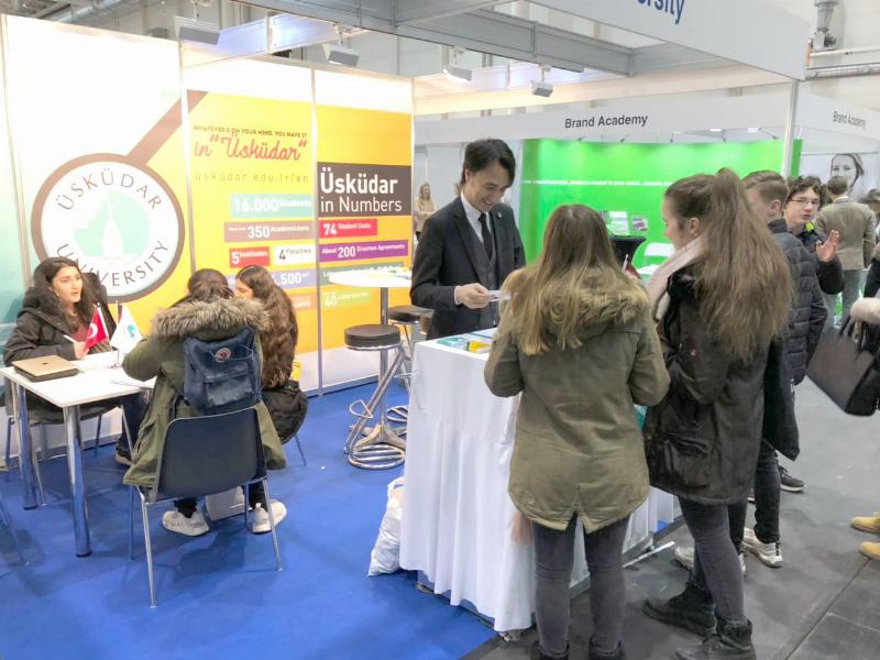 Üsküdar Üniversitesi, Almanya'da Türk öğrencilerle buluştu